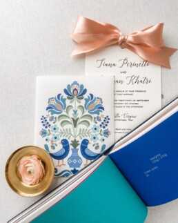 Swedish Design Wedding Invitation