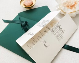 Aynhoe Park wedding invitations