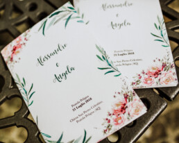 Bespoke Wedding Program