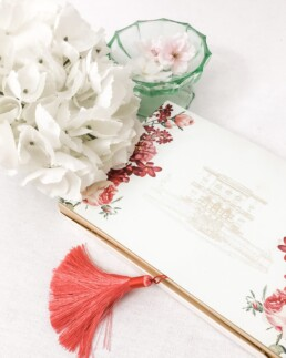 Custom Made Wedding Invitation Box - Florence Dream